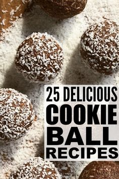From no bake monster cookie balls and glutinous peanut butter Oreo cookie balls, to classic chocolate chip cookie dough to healthy coconut vegan, we've rounded up 25 of our favorite cookie balls recipes for Christmas, Valentine No Bake Cookie Balls Recipe, Oreo Truffles Recipe, No Bake Cookies, Yummy Cookies, Cake Cookies, Chocolate Christmas Cookies, Xmas Cookies, Chocolate Chip Cookie Dough, Snowman Cookies