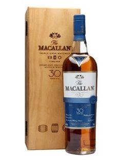 Macallan 30 year old single malt scotch whiskey