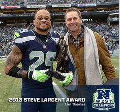 Earl Thomas III Steve Largent Award!!