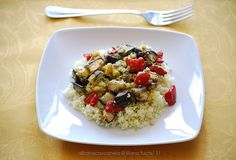 Roasted vegetables and lentils cous cous by Akane86, via Flickr