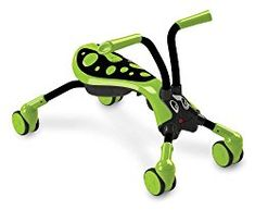 Scramblebug Toy Ride On – Folding Balance Bike for Kids – Indoor & Outdoor Scooter With Caster Wheels, Front Wheel Steering & Adorable Bug Design(Lime Green, Black) Green Hornet, Fun Games For Kids, Kid Games, Balance Bike, Activity Toys, Outdoor Toys, Indoor Outdoor, Ride On Toys, Garden Toys