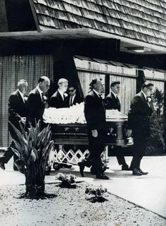 Marilyn's funeral Whitey Snyder was a Pall Bearer, he also did her makeup. August 8, 1962
