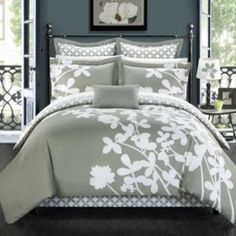 Chic+Home+Iris+7-piece+Bed+Set