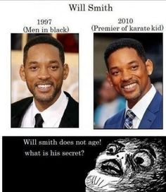 Will Smith. Time traveler.