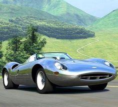 1966 Jaguar XJ13 ════════════ ❄❄ Alittlemarket ☞ https://www.alittlemarket.com/boutique/au_royaume_du_timbre-3130013.html