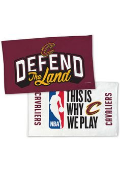 Cleveland Cavaliers 2017 NBA Playoffs Beach Towel