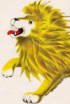 Lion by William Pene Du Bois, 1956.