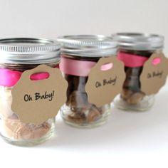 Fleur de Sel Caramel Eco Chic Baby Shower Favors - 25 Guests