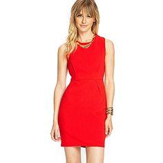 Slimming O Neck Solid Sleeveless Women Dresses