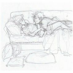 [the mortal instruments] Art by Burdge bug. ~ Wish I knew who they are.<<Jace and Clary, no doubt. Couple Sketch, Couple Drawings, Love Drawings, Couple Art, Drawing Sketches, Art Drawings, The Mortal Instruments Art, Illustration, Wow Art