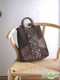 contemporary patchwork bag -