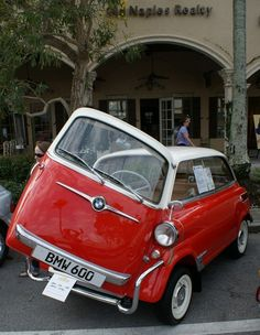 1959 BMW 600. I'm pretty sure this was Steve Urkel's car...