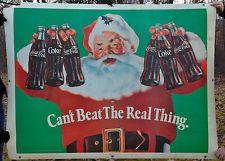 Rare Vintage Coca Cola Santa Christmas Huge Truck Sign Banner Advertisement Coca Cola Santa, Coca Cola Christmas, Santa Christmas, Huge Truck, Truck Signs, Coke, Banner, Trucks, Cartoons