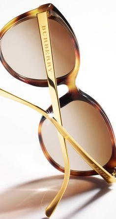 Burberry Gold \u2665\u2724 | Keep the Glamour | BeStayBeautiful http://pinterest.com/dorothy5211/sun-glasses/