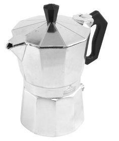 Wee's Beyond Aluminum Brew-Fresh Espresso/Coffee Maker 3-Cup 7526-03 - Commute Coffee Cappuccino Maker, Espresso Maker, Espresso Coffee, Best Coffee, Coffee Maker, Best Espresso Machine, Coffee Varieties, Best Blenders, Coffee Store