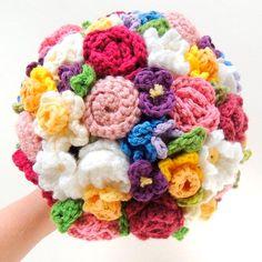Bouquets (de crochet) - Renata Enamorada
