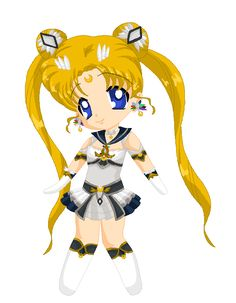 Chibi sailor moon. This is very reckless all last night yesterday....... Brainstorming and figuring out ideas if this would go through. Well since you guys have seen the Superus from time to time and how they look; H...