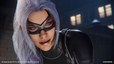 In the first DLC for Spider-Man on Insomniac Games makes some changes to Black Cat's Marvel Comics backstory by expanding the role of a minor character in Felicia Hardy's origin. Spiderman Black Cat, Black Cat Marvel, Catwoman Cosplay, Cosplay Gatúbela, Spiderman Ps4 Wallpaper, Marvel Wallpaper, Black Wallpaper, Marvel Dc, Marvel Comics