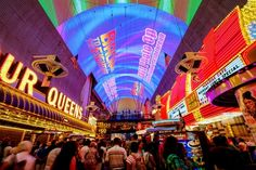 Light Show at Fremont Street picture in Las Vegas