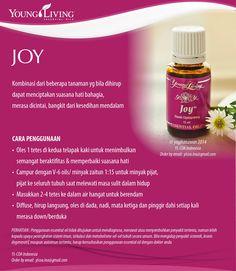 JOY essential oil www.mamaesensial.com #younglivingindonesia