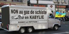 François Hollande: L'interdiction de l'exploitation du gaz de schiste en kabylie François Hollande: L'interdiction de l'exploitation du gaz de schiste en kabylie 2,000 1,502  1,502 signatures. Atteignons 2,000 Pourquoi c'est important l'irresponsable projet d'exploitation des gaz de schiste risque de provoquer de graves dégâts écologiques et environnementales irreversibles ! ces méthodes sont