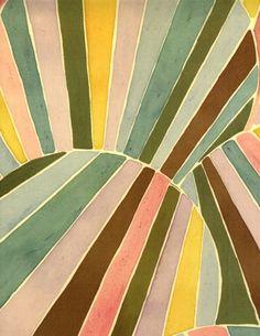 illustration by Luli Sanchez Motifs Textiles, Textile Patterns, Color Patterns, Print Patterns, Colour Schemes, Illustrations, Illustration Art, Art Abstrait, Grafik Design