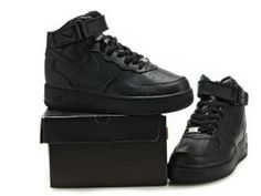 Nike Air Force 1 Black High Tops