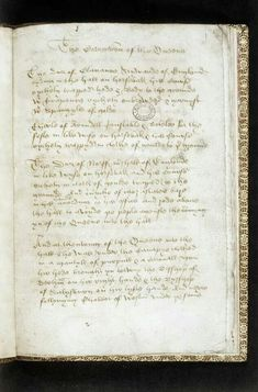 Account of the coronation of Elizabeth Woodville 1465, created by William Ballard (King of Arms).