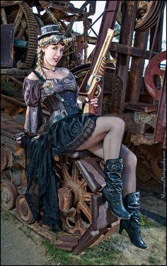 """Steampunk with Shotgun"" by Allan Freeman on 500px.com"