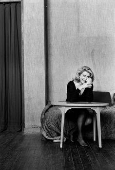 Catherine Deneuve par Kate Barry