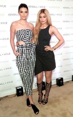 Kendall Jenner Photos Photos: Kendall and Kylie Jenner Celebrate Kendall + Kylie Collection at Nordstrom Private Luncheon Las Jenner, Kendall Jenner Feet, Kendall Jenner Photos, Kylie Jenner Style, Kourtney Kardashian Baby, Kim Khloe Kourtney, Kardashian Jenner, Kardashian Fashion, Dresses
