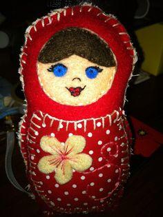 Plush Russian Doll
