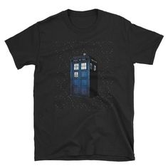 Police Box, Tardis, Doctor Who, Etsy Shop, Trending Outfits, Check, Mens Tops, Shopping, Products