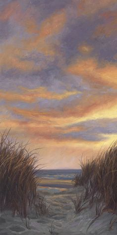 Simple Oil Painting, Red Sunset, Thing 1, Seascape Paintings, Oil Paintings, Sky Art, Beach Art, Beautiful Sunset, Fine Art America