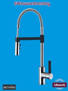 Lever taps work on so many levels. Like this Sink Mixer, with an extendable hose for better reach. Mixer, Sink, Design, Products, Sink Tops, Design Comics, Sinks, Gadget