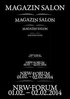 """Im Rahmen des 3. Duesseldorf Photo Weekend findet im Foyer des ehemaligen NRW-Forum (Ehrenhof 2) erstmals der """"Magazin Salon 2014"""" statt. #dpw2014"""