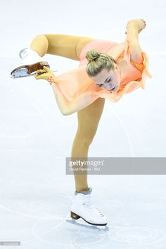 Elena Radionova of Russia performs during the Ladies Short program during day two of the ISU Grand Prix of Figure Skating Final 2015/2016 at the Barcelona International Convention Centre on December 11, 2015 in Barcelona, Spain.