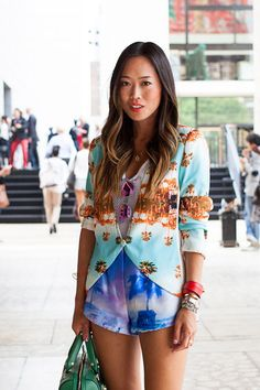 Aimee Song - Song of Style - New York fashion week girls street fashion & style