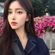 Imagem de girl, korean, and ulzzang women корейский макияж, Korean Beauty Girls, Pretty Korean Girls, Cute Korean Girl, Cute Asian Girls, Beautiful Asian Girls, Asian Beauty, Mode Ulzzang, Ulzzang Korean Girl, Girl Korea