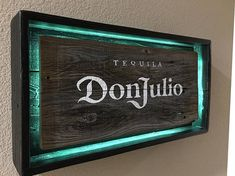 Hand Made Hand Painted Rustic Don Julio Tequila signs. All materials are from reclaimed pallet wood Offered in 2 different colors: