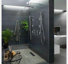 17 Unique Bathroom Shower Design That Looks More Comfort - Home And Apartment Ideas Bathroom Renos, Bathroom Interior, Modern Bathroom, Italian Bathroom, Kitchen Interior, Dream Bathrooms, Beautiful Bathrooms, Luxurious Bathrooms, Showers Without Doors