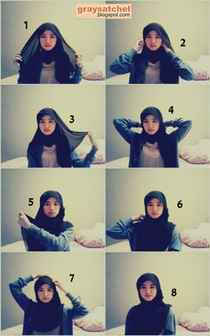 Tutorial for Simple Hijab, looks good in any occasion. come and take a look!