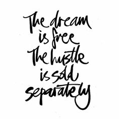 A dream can be a great source of motivation & happiness but without action and hustle it's just a fictional story in our head. Life Quotes Love, Great Quotes, Quotes To Live By, Unique Quotes, Random Quotes, Work Quotes, Awesome Quotes, Daily Quotes, The Words