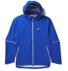 Nike - Rain Runner Hooded Shell Running Jacket