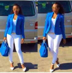 My Wednesday situation, I feel so much better after a little few days rest.Casual Stylish Business Outfit for the Ladies Corporate Fashion, Corporate Attire, Business Casual Attire, Professional Outfits, Business Outfits, Corporate Style, Suit Fashion, Look Fashion, Fashion Outfits