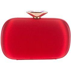 Giuseppe Zanotti Design Box clutch ($1,045) ❤ liked on Polyvore