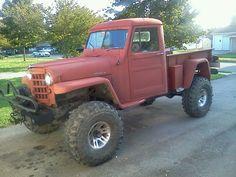 1951 Willys Overland Pickup Truck - Photo submitted by Charles Taylor.
