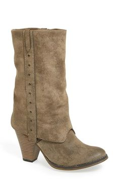 MIA 'Jeri' Cuffed Western Boot (Women) available at #Nordstrom