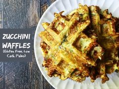 Zucchini Waffles (GF, low carb, Paleo) Recipe on Yummly. @yummly #recipe