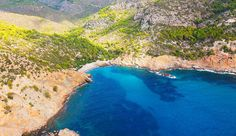 """Strand """"Cala Egos (2)"""" bei Antratx im Süden von Mallorca"""